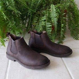 Dockers Chocolate Brown Slip in Boots